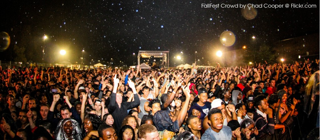 FallFest Crowd by Chad Cooper