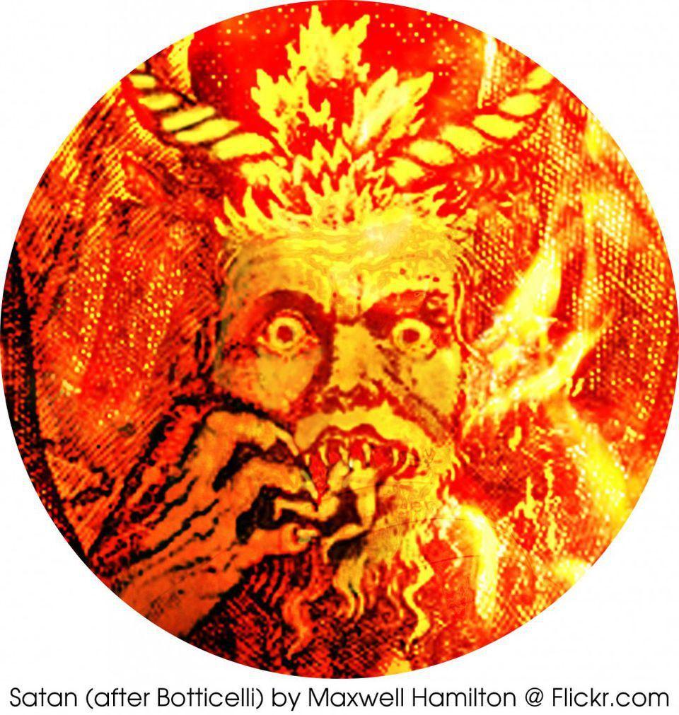 Satan (after Botticelli) by Maxwell Hamilton