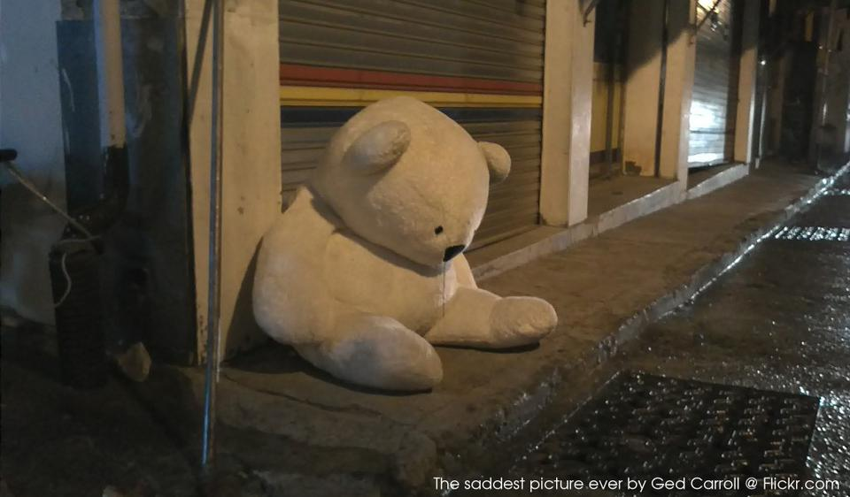 The saddest picture ever by Ged Carroll