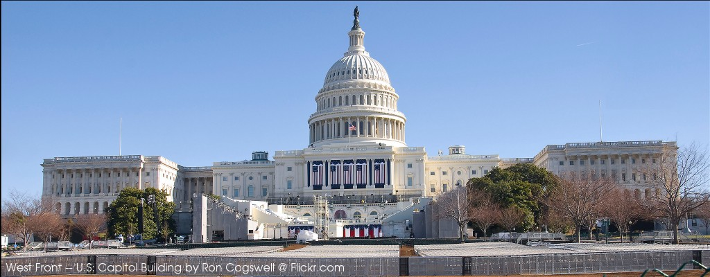 West Front -- U.S. Capitol Building by Ron Cogswell