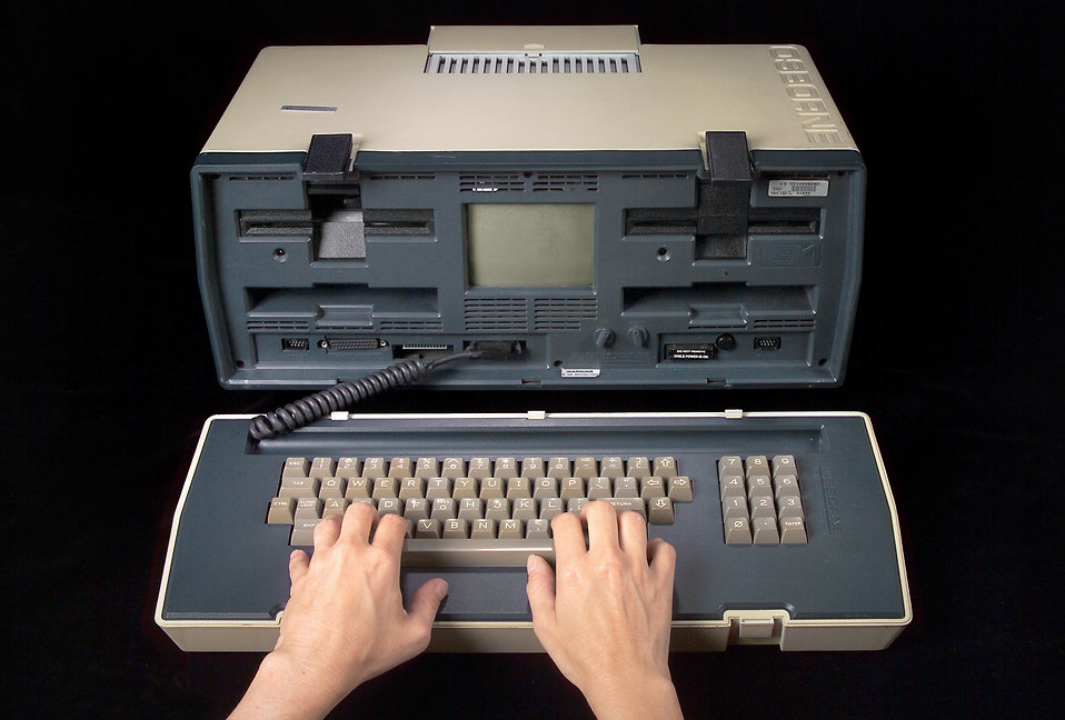 Image: 1980's computer by freestockphotos.biz