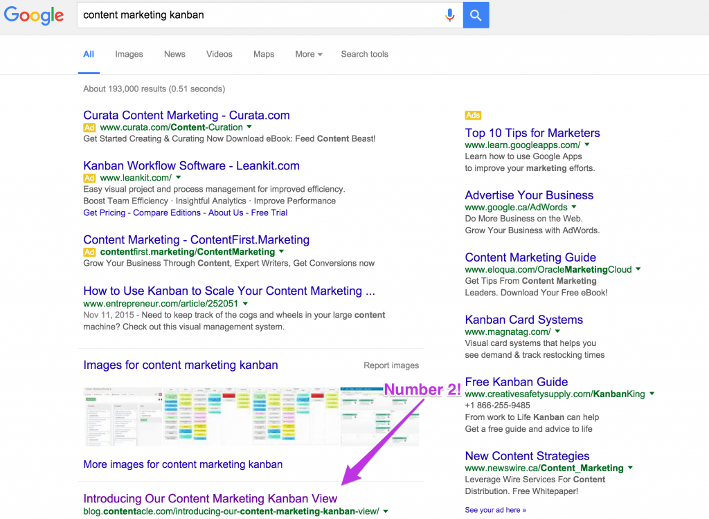 content marketing search engine optimization