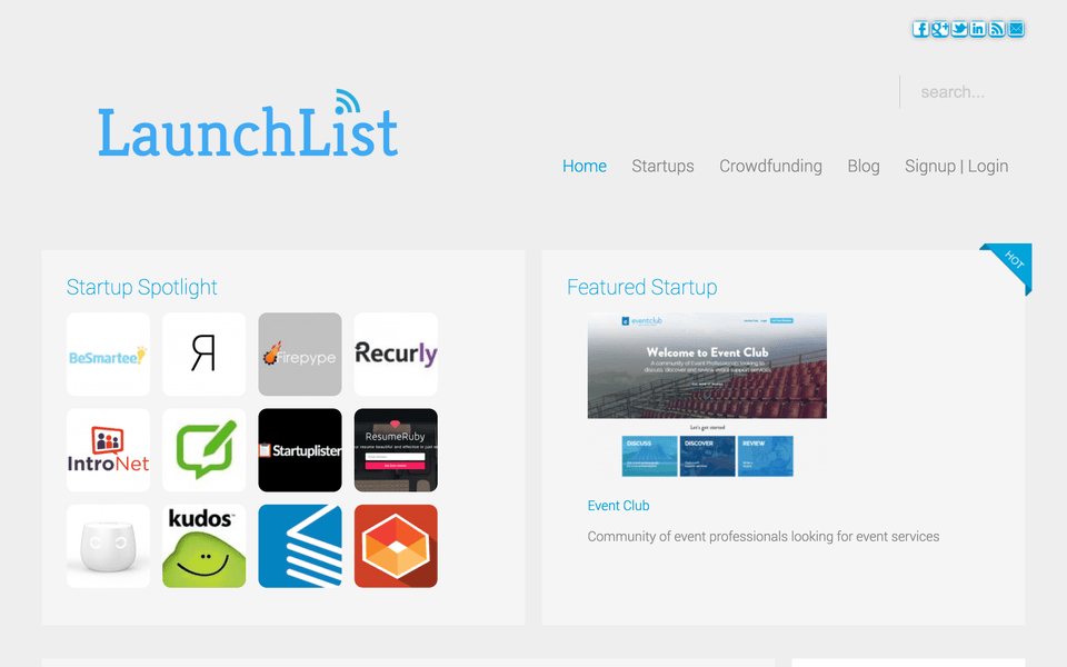 promote your startup on launchlist.co