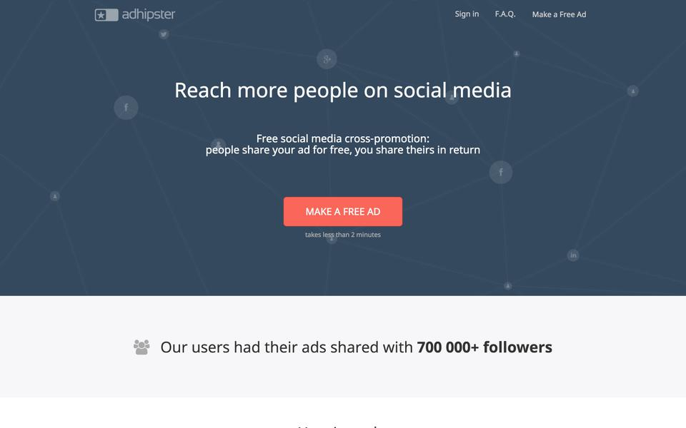 promote your startup on adhipster