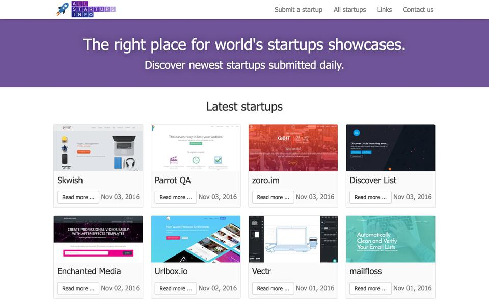 promote your startup on allstartups