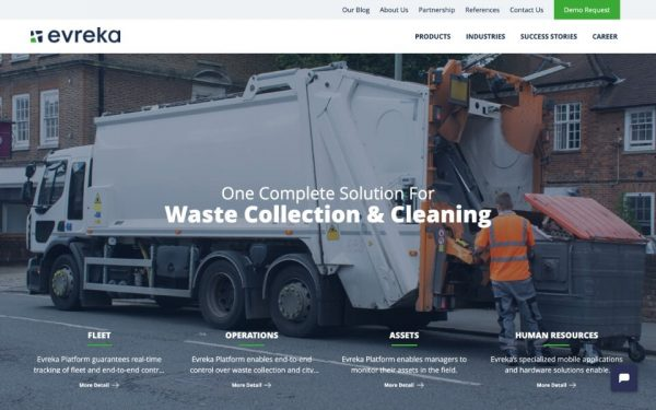 Evreka - Waste Collection Solution