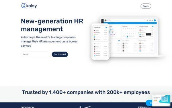 Kolay HR startup