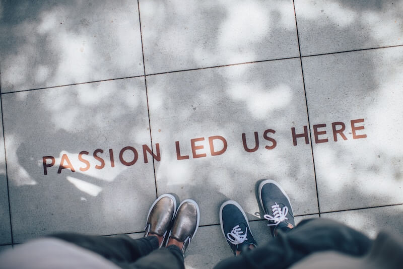 startup branding passion