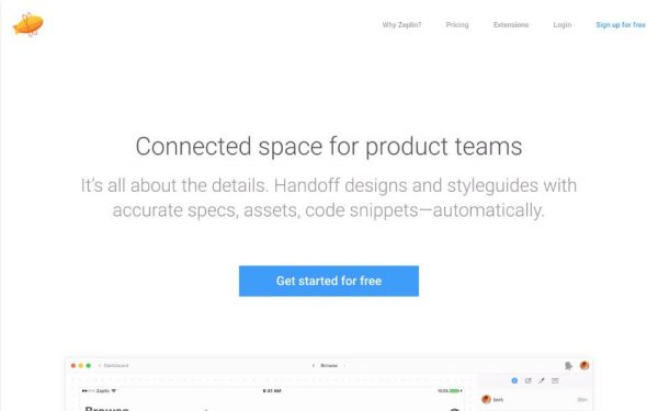 Zeplin Startup