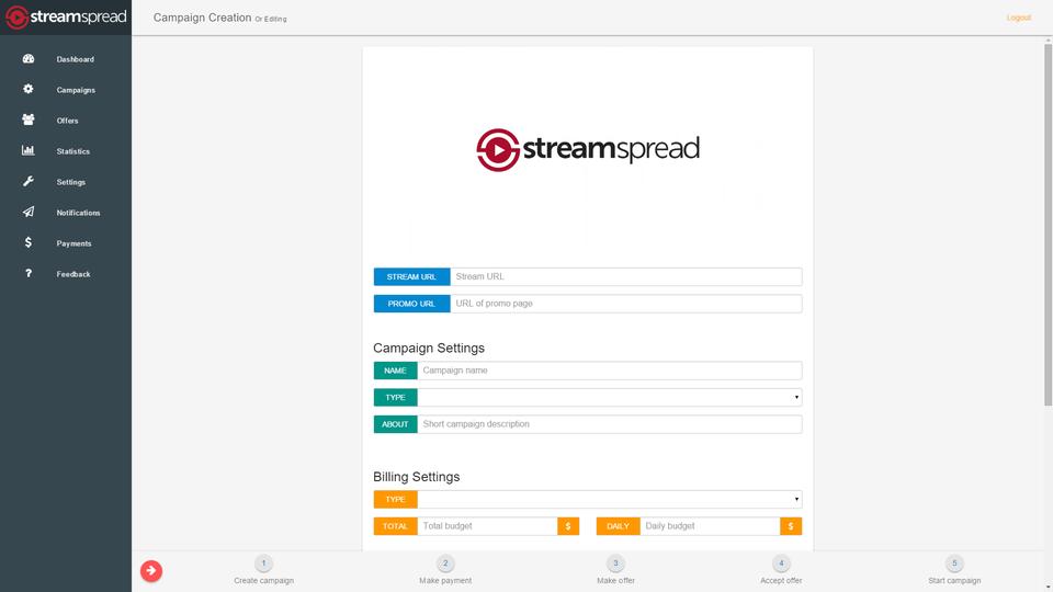 StreamSpread