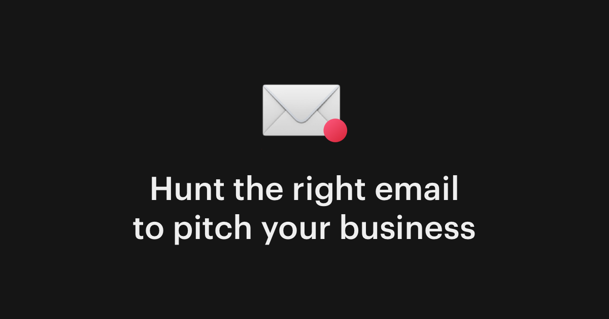 Email Hunt