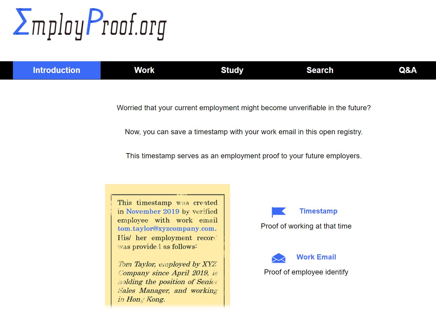 EmployProof.org