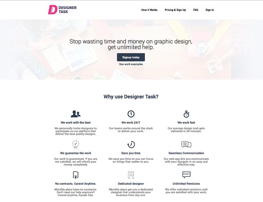 Designer Task
