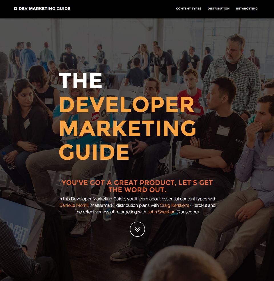 The Developer Marketing Guide