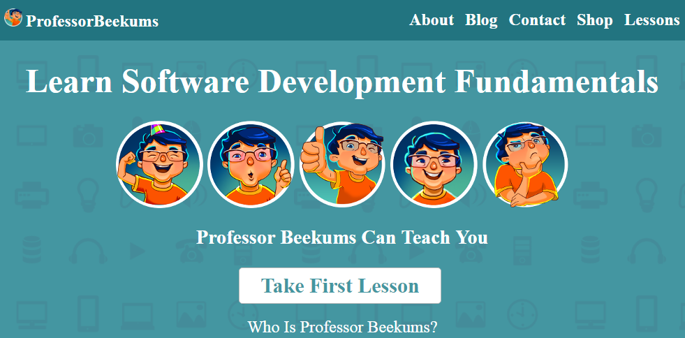 Professor Beekums