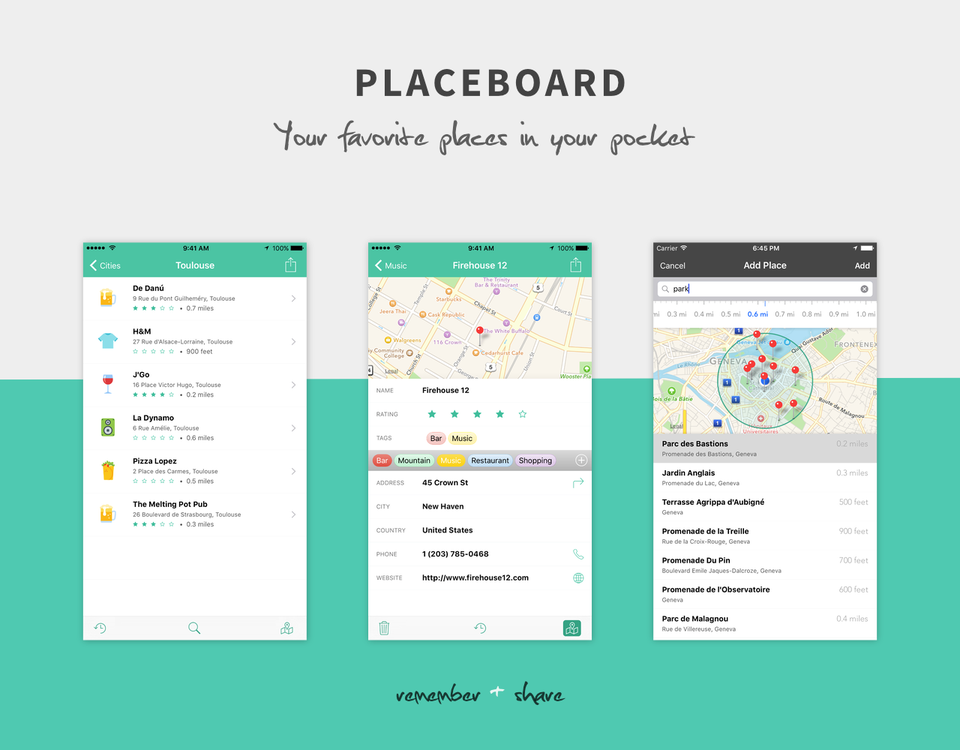 Placeboard