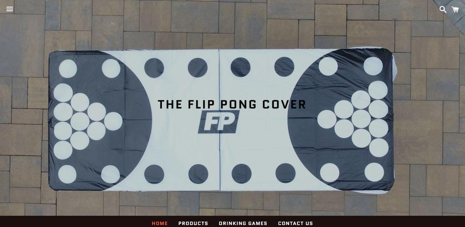 The Flip Pong Cover