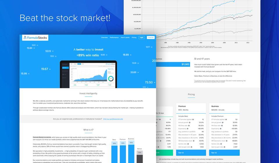 Formula Stocks