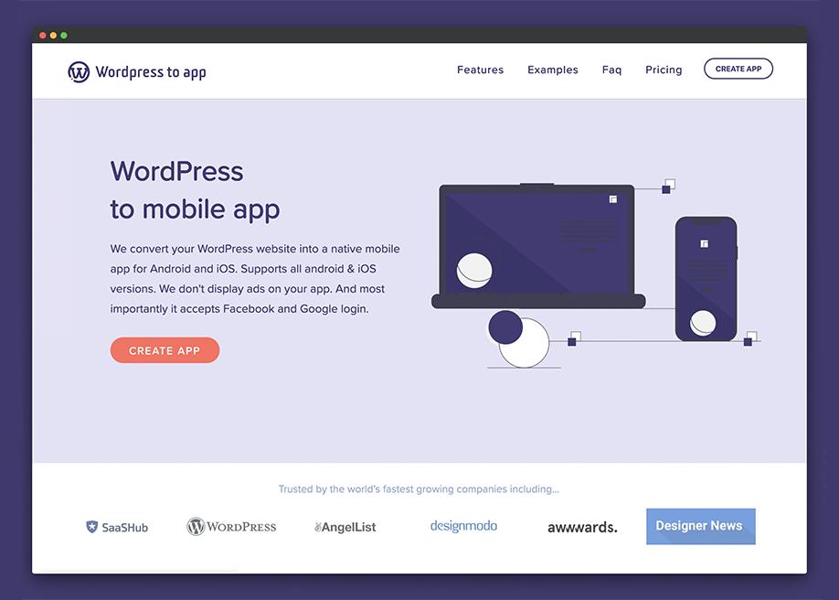 WordPress To App