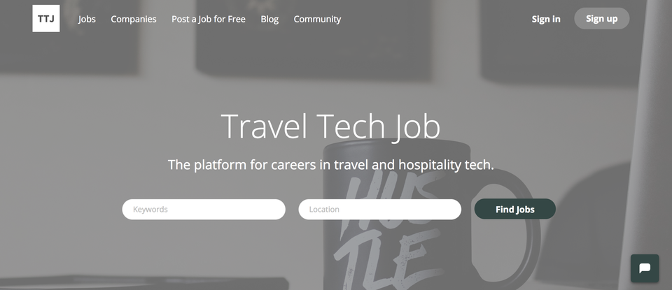 Travel Tech Job