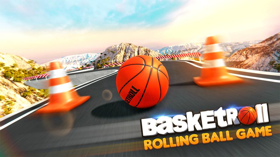 BasketRoll: Rolling Ball Game
