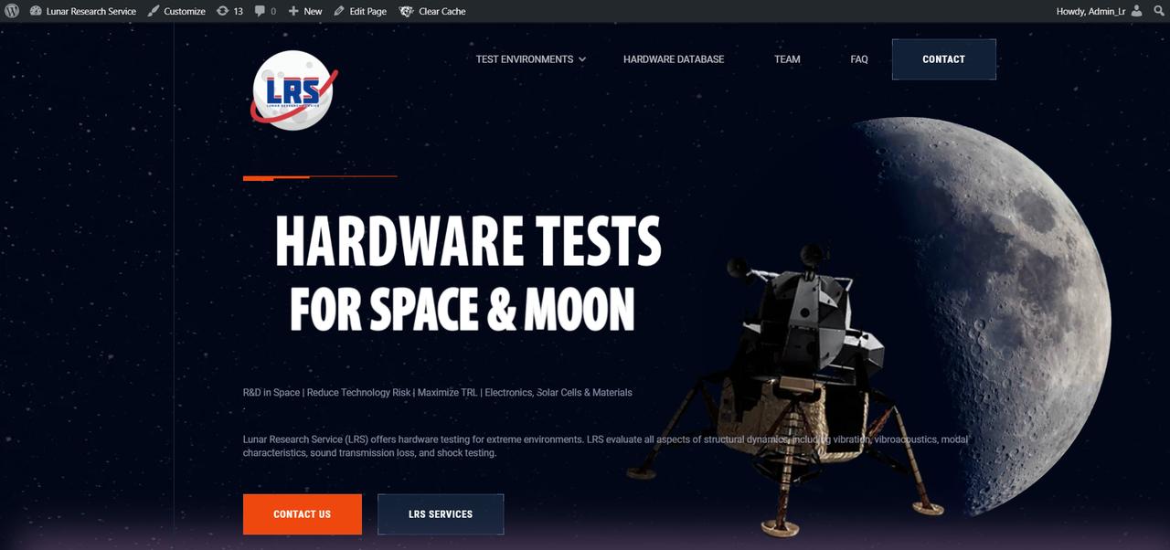 Lunar Research Service