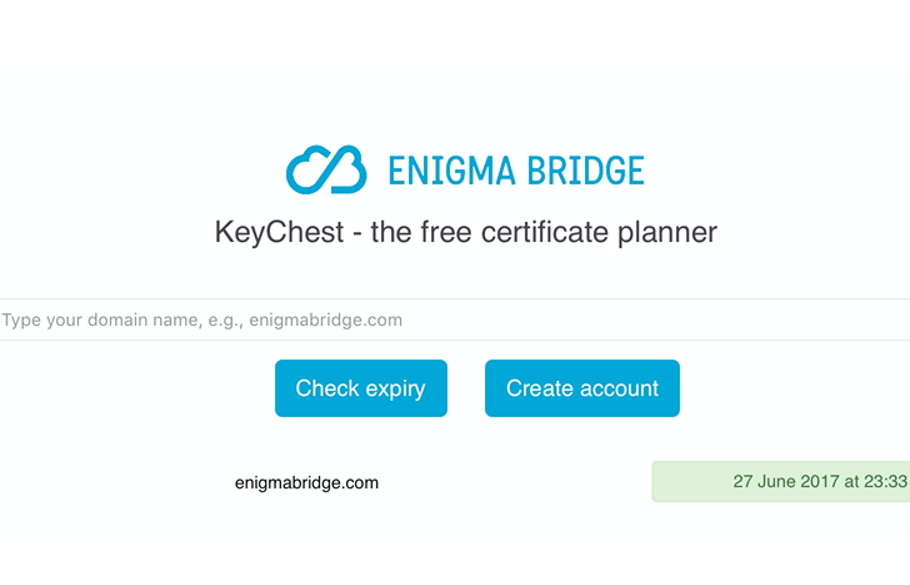 KeyChest of Enigma