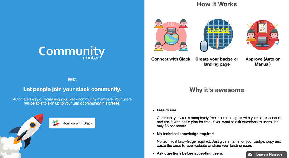 Community Inviter