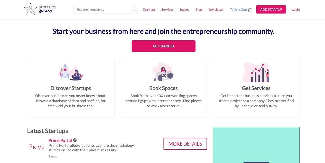 Startups Galaxy