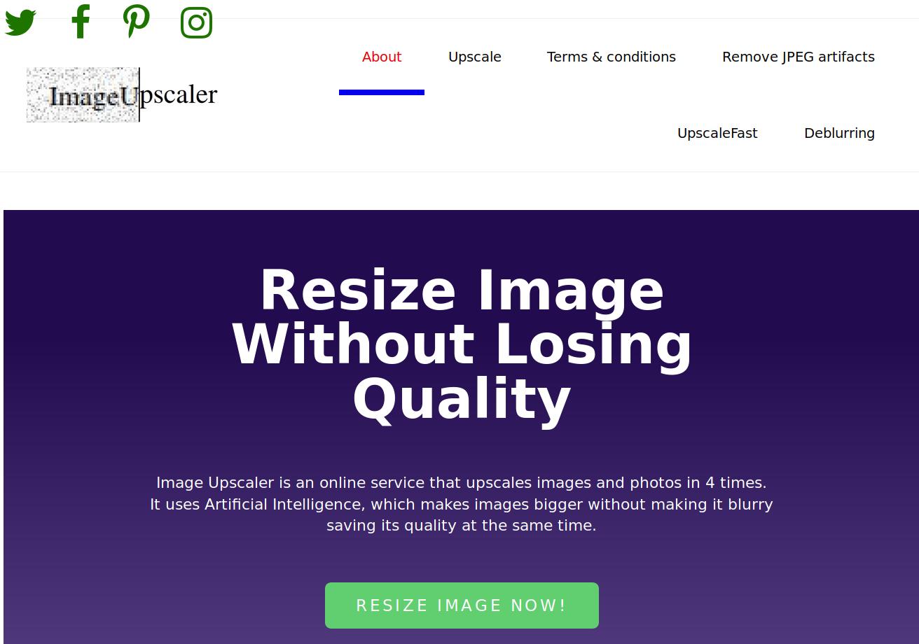 Image Upscaler