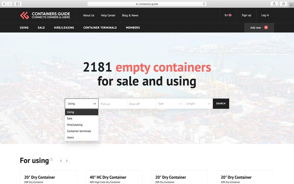 Containers.Guide
