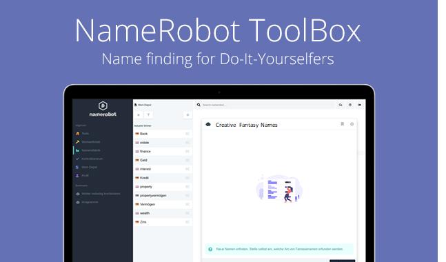 NameRobot Toolbox