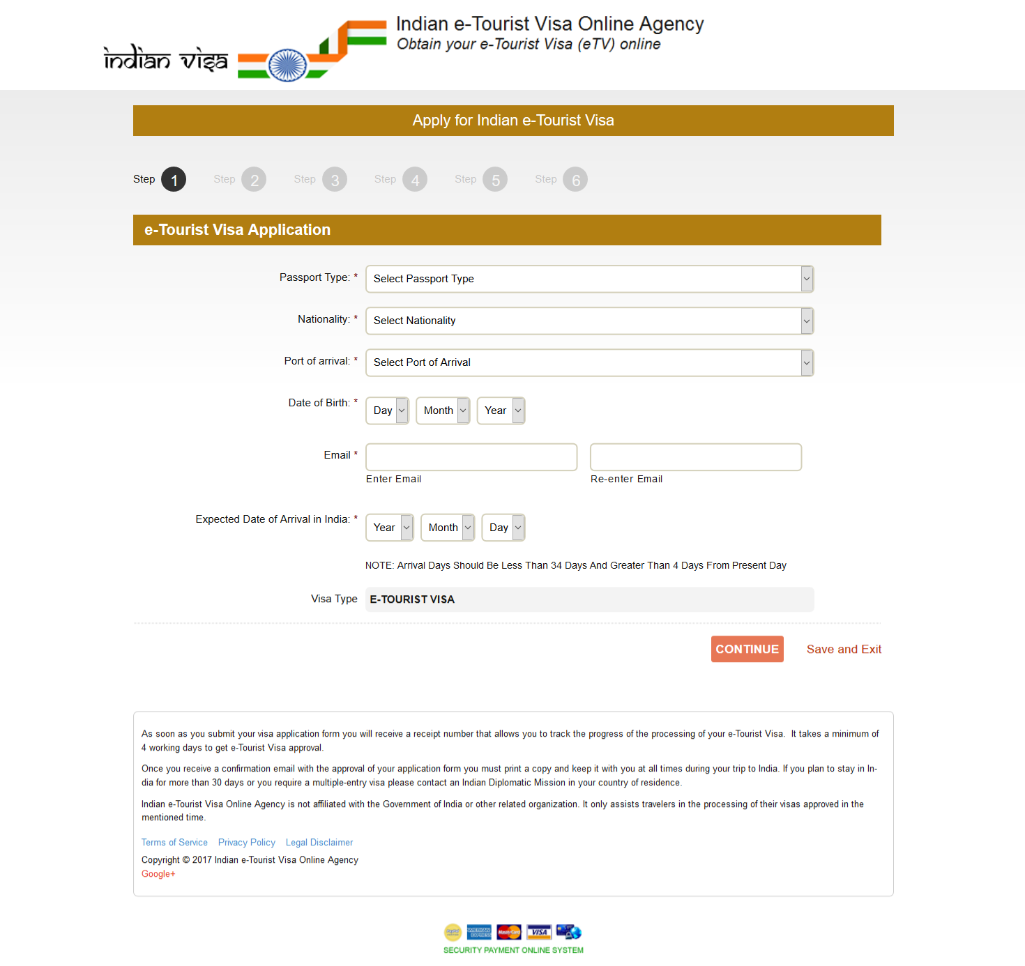 Indian Visa Processing Services
