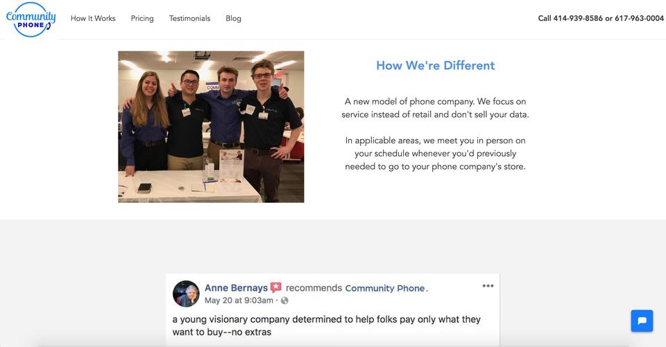 Community Phone