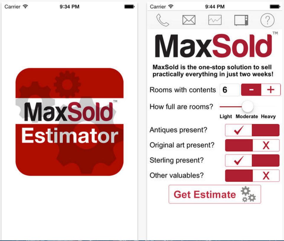 MaxSold Estimator