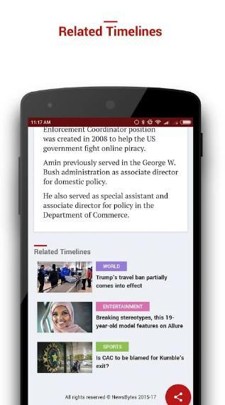 NewsBytes App