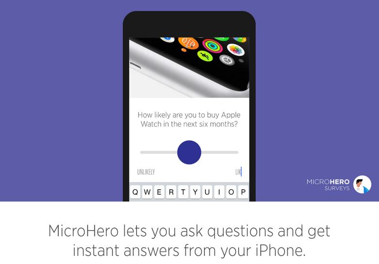 MicroHero Surveys