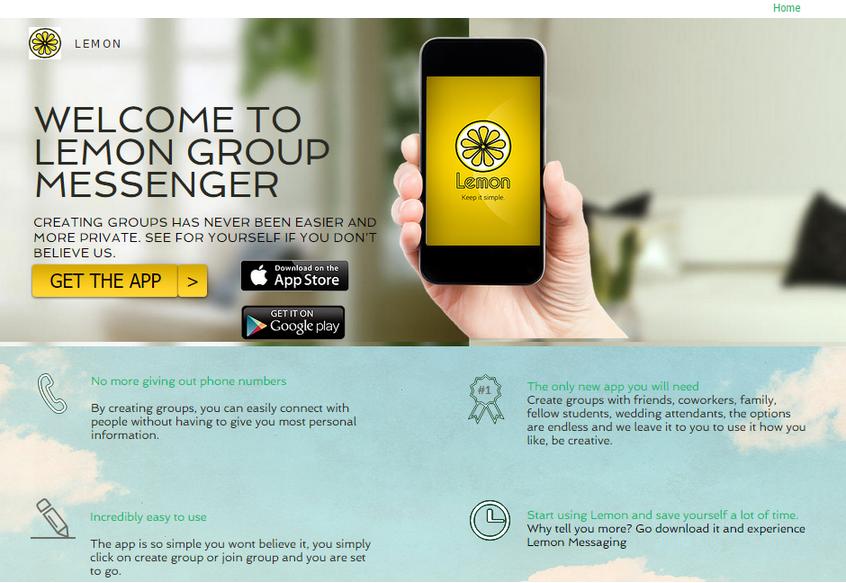Lemon Group Messenger | Startup Buffer