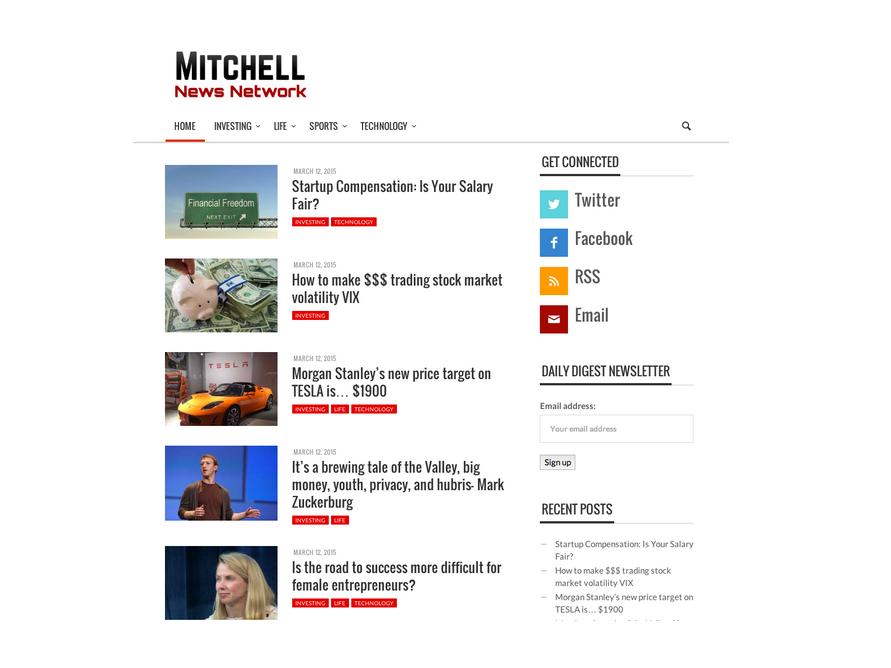 Mitchell News Network