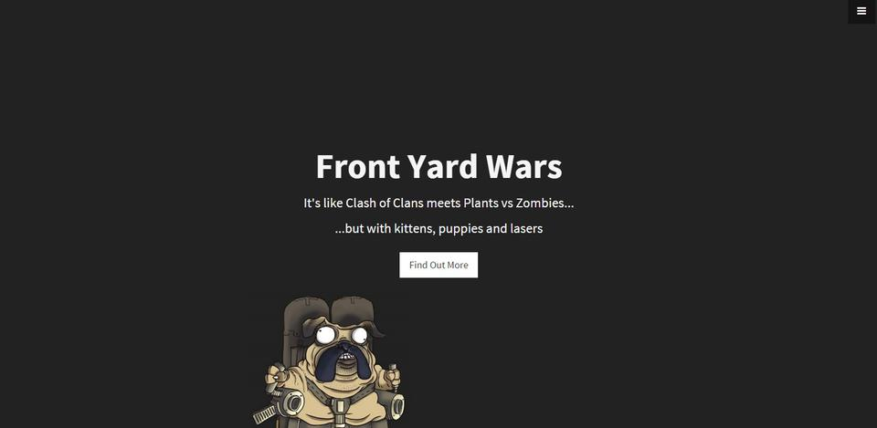 Front Yard Wars by Fluffy Fairy Games