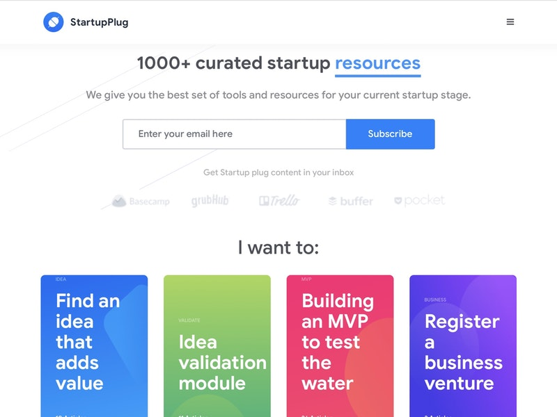Startup Plug