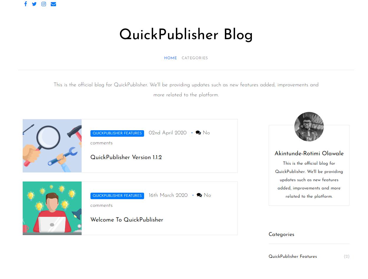 QuickPublisher