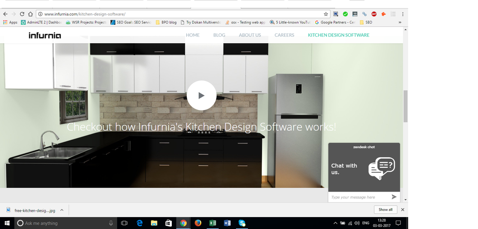 Infurnia - Kitchen design software