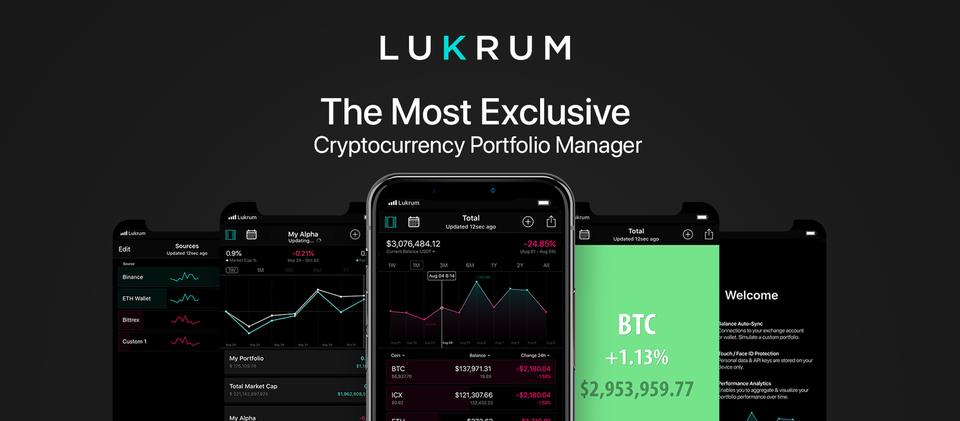 LUKRUM Portfolio Manager App