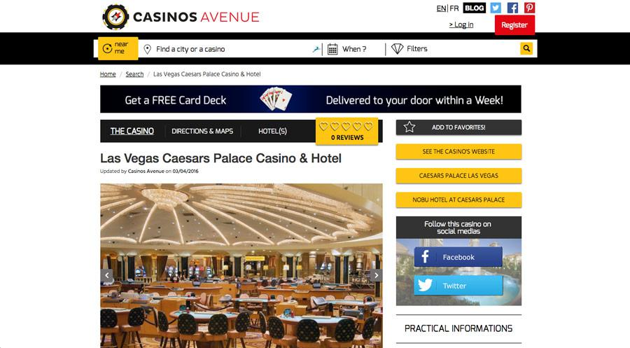 CasinosAvenue