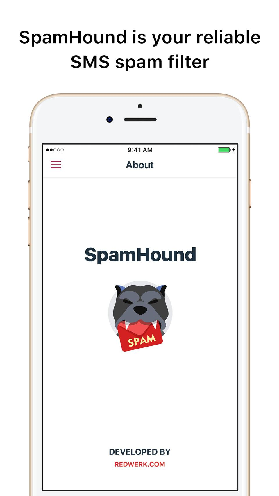 SpamHound SMS Spam Filter