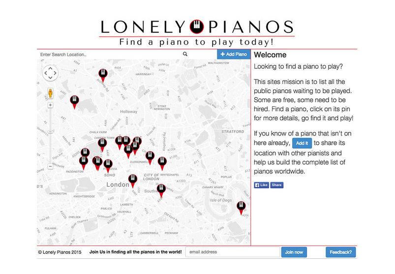 Lonely Pianos