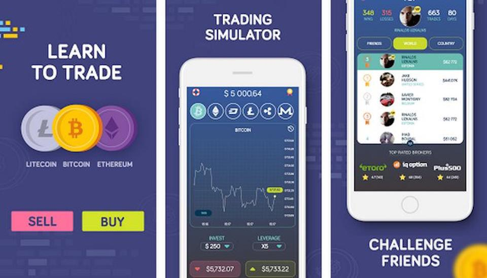 Bitcoin Flip Trading Game