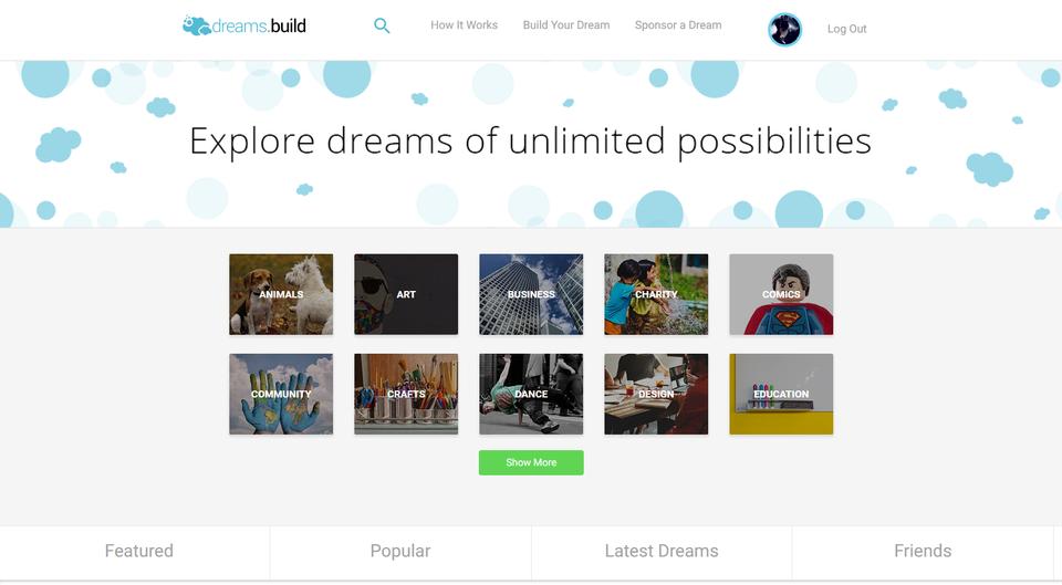 Dreams.Build