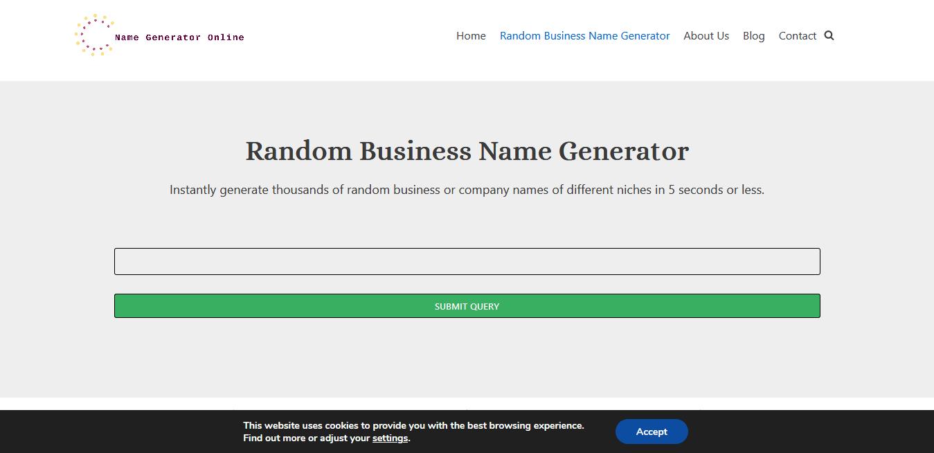 Name Generator Online